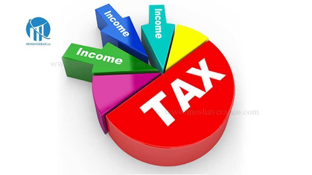 مالیات بر جمع درآمد ناشی از منابع مختلف